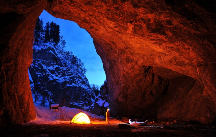 Капова пещера на карте