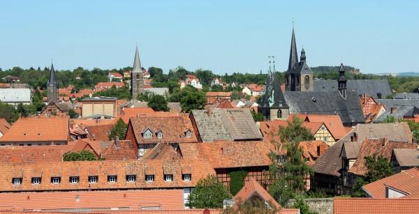 Кведлинбург, Германия. Достопримечательности на карте, фото, что посмотреть за один день