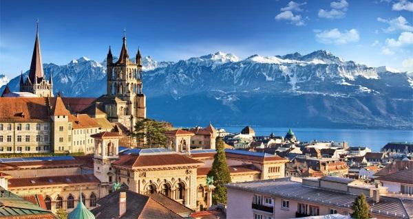 Лозанна, Швейцария. Достопримечательности на карте, фото, описание, что посмотреть за один день, куда сходить || Лозанна швейцария достопримечательности