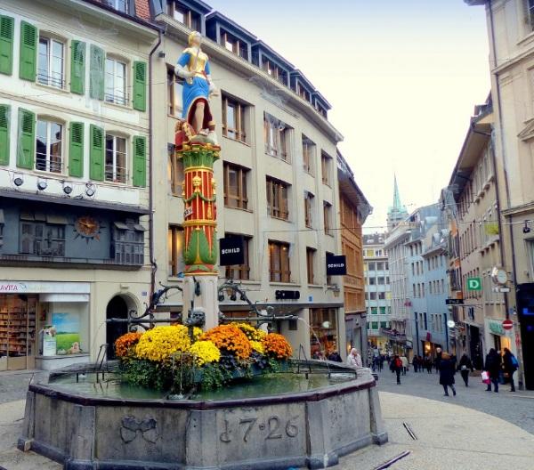 Лозанна, Швейцария. Достопримечательности на карте, фото, что посмотреть за день