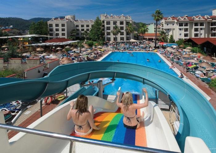 Лучшие отели Турции для отдыха с детьми 4-5 звезд, Все включено, аквапарком, водными горками