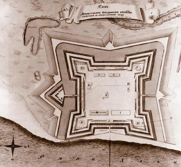 Новодвинская крепость в Архангельске. Фото, история, где на карте, как добраться, экскурсии
