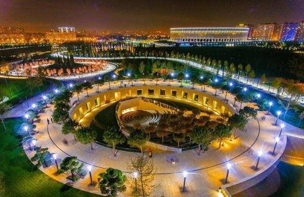 Парк Галицкого в Краснодаре. Фото, видео ночью, днём, как добраться, интересные факты