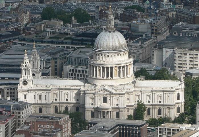 Собор Святого Павла (St Paul's Cathedral) в Лондоне