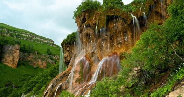 Чегемские водопады в Кабардино-Балкарии Где находятся фото как доехать на машине