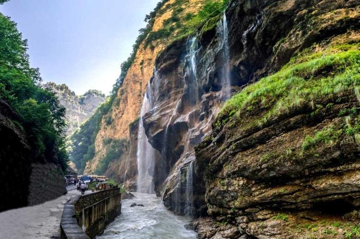 Царские водопады в Кабардино-Балкарии. Фото, где находятся на карте, как добраться