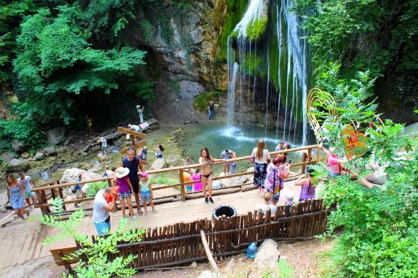 Водопад Джур-Джур в Крыму. Фото, где находится, интересные факты, как добраться
