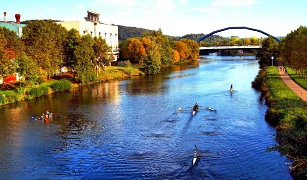 Французско-германская река Саар. Фото, где находится, характеристики
