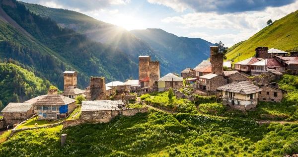Фото Достопримечательностей Грузии  интересные места и достопримечательности