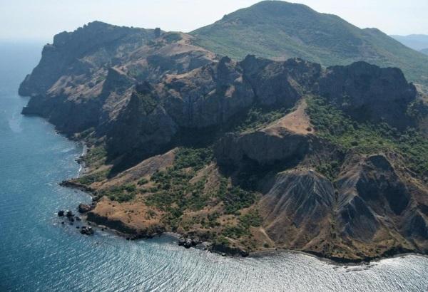 Кара-Даг в Крыму, Коктебель. Где находится вулканический массив, заповедник, Золотые ворота, фото, экскурсии