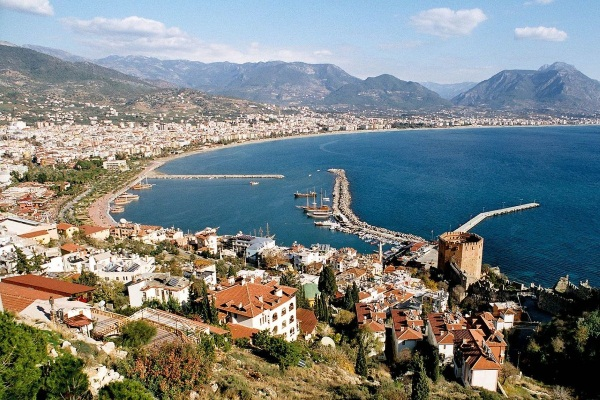 Курорты Турции на карте. Лучшие города для пляжного отдыха на Эгейском, Средиземное море. Список, фото