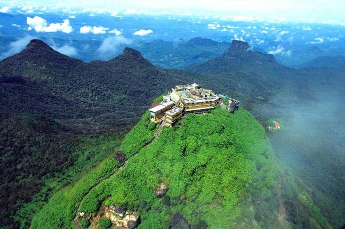 Пик Адама, Шри-Ланка. Фото горы, где на карте, высота, сколько ступенек подъем, восхождение