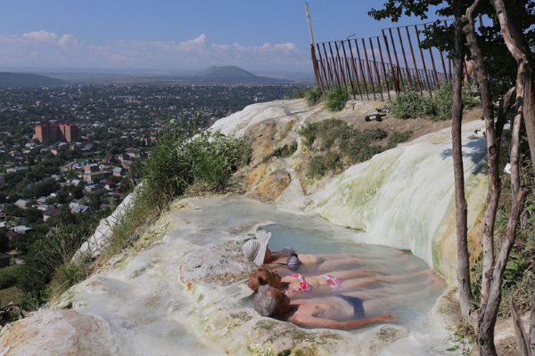 Термальные источники Пятигорска: горячие для купания, бесплатные. Фото