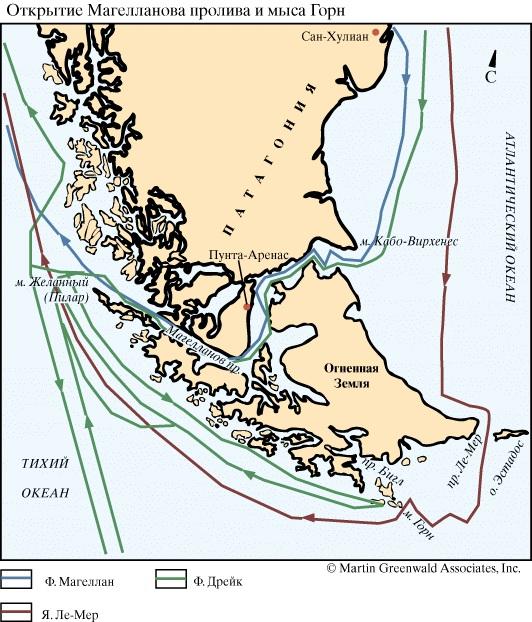 Мыс Горн на карте мира, Чили. Где находится, координаты, кто открыл, фото