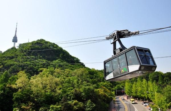 Сеульская телебашня, Республика Корея. Фото, история, интересные факты