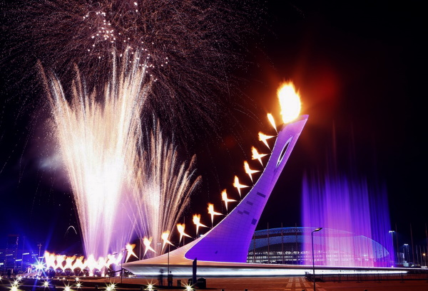 Шоу фонтанов в Олимпийском парке, Сочи. Расписание 2019, история, мероприятия