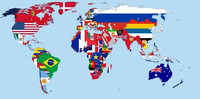 Сколько всего стран в мире на 2020 год. Список, статистика по населению, площади, континентам