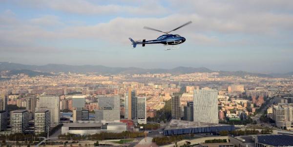 Барселона с высоты птичьего полета на вертолёте. Фото, цена, отзывы