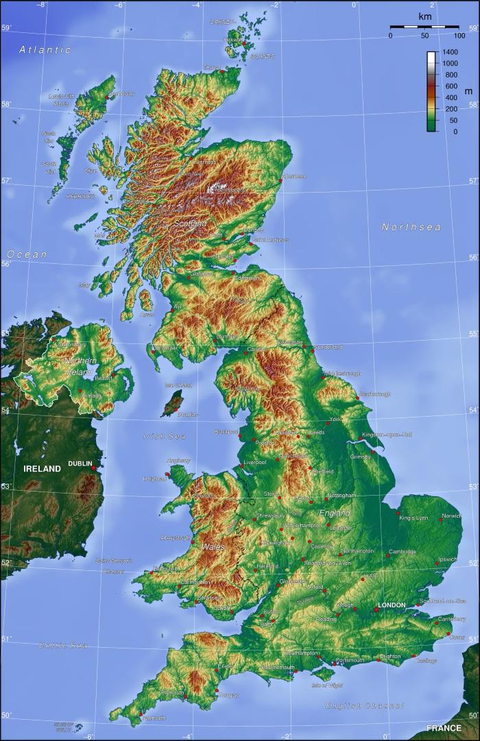 Британские острова. Где находятся, фото, водами каких океанов омываются, наивысшие точки
