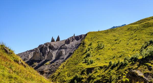Джилы-Су в Кабардино-Балкарии. Фото достопримечательностей, урочище, водопад, Серебряный источник