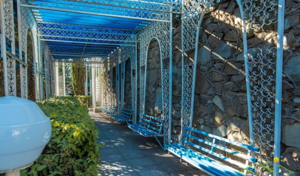 Санаторий Голубая волна, Алушта. Фото, отзывы, цены