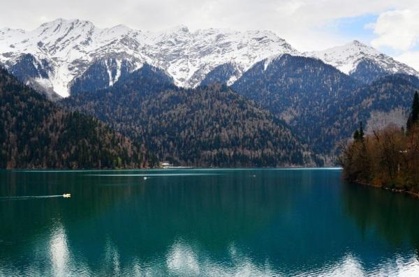 Озеро рица абхазия фото карта