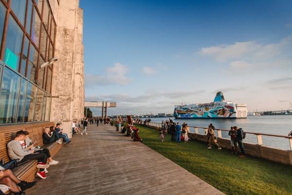 Севкабель порт в Санкт-Петербурге. Карта, фото, мероприятия, выставки, клуб