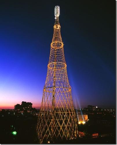 Шуховская башня на Шаболовке в Москве. Фото, история, аналоги