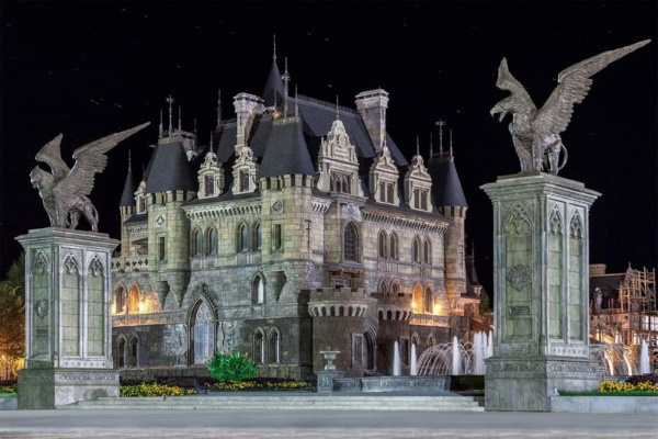 Замок Гарибальди, Тольятти. Фото, история создания, как доехать, экскурсии