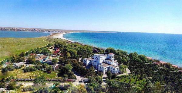 Пансионат Солнечная долина в Оленевке Тарханкут Крым Фото отзывы цены