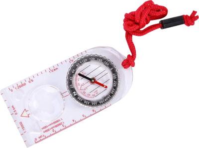 Как определять азимут по компасу, сторонам света, на карте местности с помощью транспортира