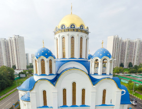 Храм Покрова Пресвятой Богородицы в Ясенево, Москва. Расписание богослужений, фото, как добраться