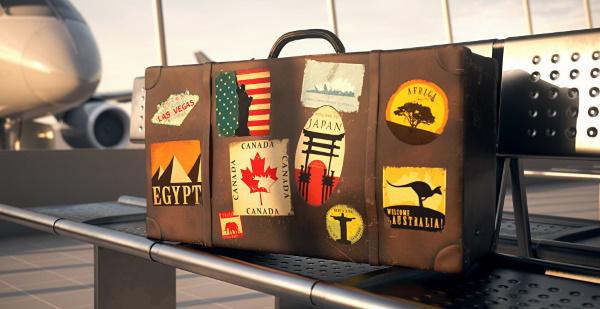 Наклейки (стикеры) на чемодан путешественника. Фото из разных стран, правила таможни