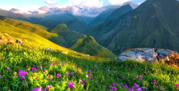 Отдых в горах Краснодарского края и Адыгеи летом, зимой, турбазы с бассейном, термальной водой