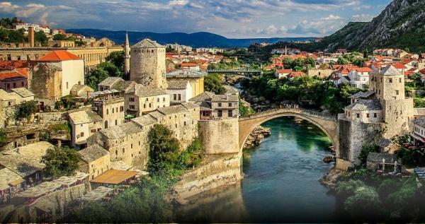 Сараево. Босния и Герцеговина. Достопримечательности на карте, фото с описанием