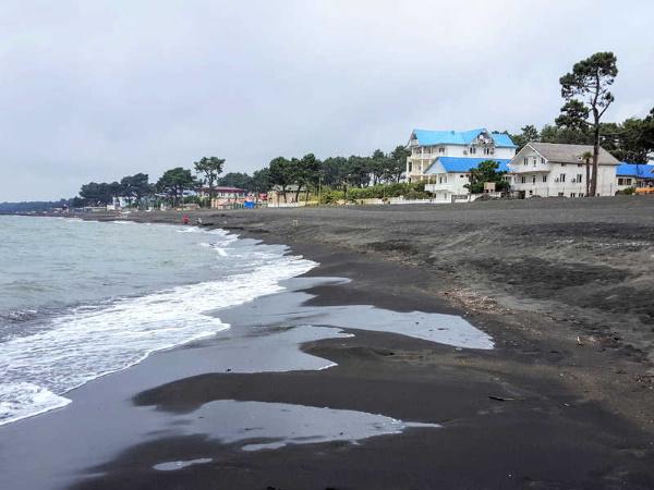 Уреки, Грузия. Фото, погода, магнитные пески, пляж, отели, как добраться, отзывы