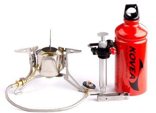 Горелки туристические газовые для баллонов, бензиновые, мультитопливные, мини. Цены, какую купить