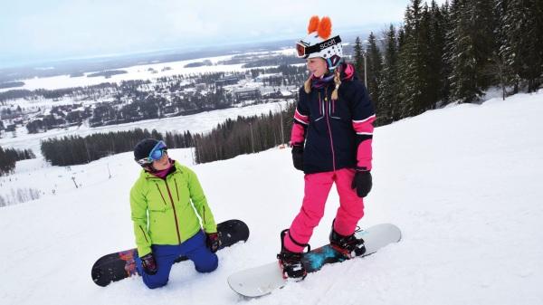 Тахко Финляндия горнолыжный курорт. Карта, фото, скипасс