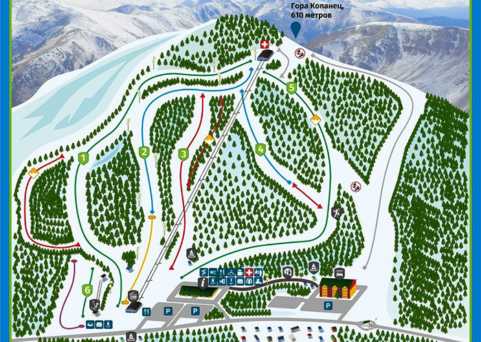 Горнолыжные курорты Челябинской области: Солнечная долина, Абзаково, Завьялиха, Евразия