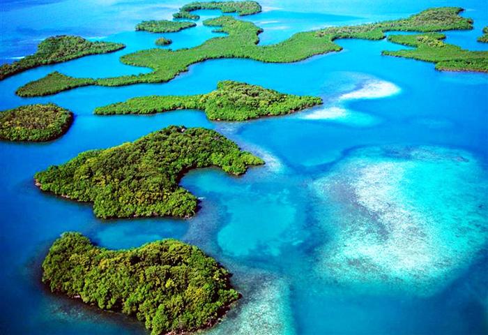 Хэвлок (Havelock, Хавелок) остров на карте Индии и другие Андаманские острова