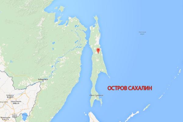 Острова и полуострова России на карте. Список с названиями