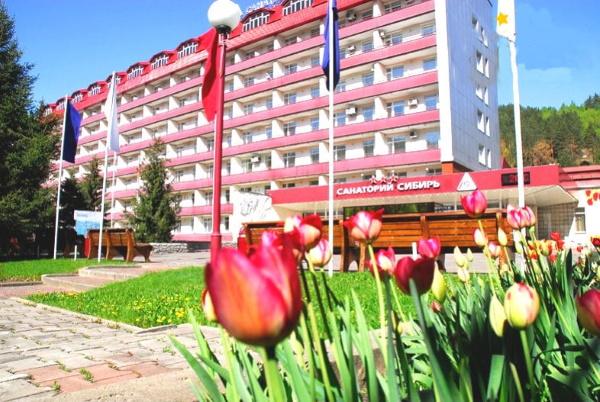 Санаторий Сибирь, Белокуриха. Цены с лечением, фото