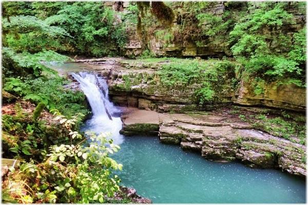 Каньон Псахо, реки в Адлере, Сочи. Фото сухого, мокрого, где находится, экскурсии