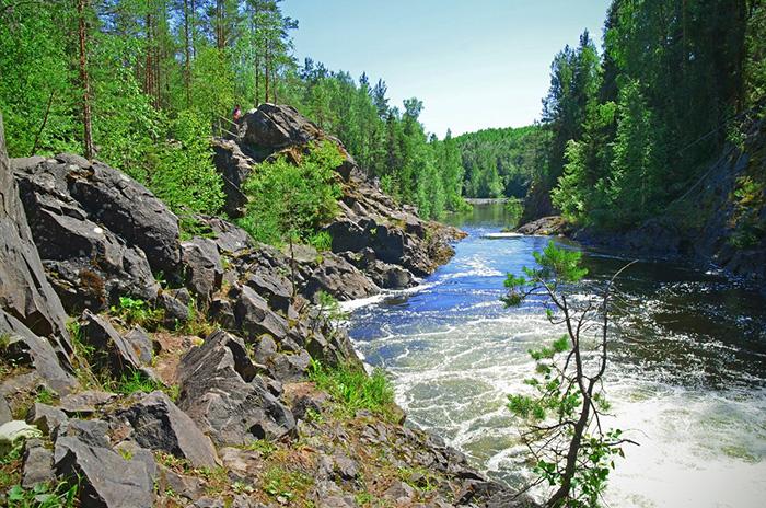 Водопад Кивач в Карелии. Где находится, фото, интересные факты, туры