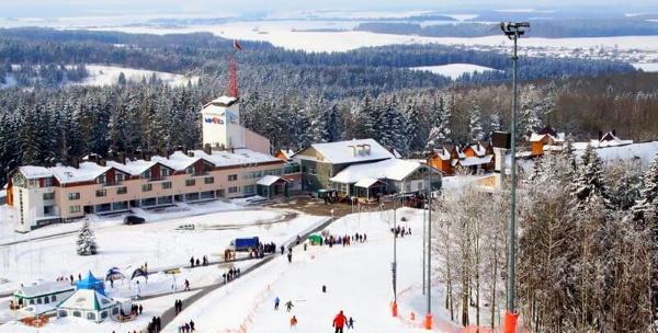 Логойск горнолыжный курорт, Белоруссия. Фото, трассы