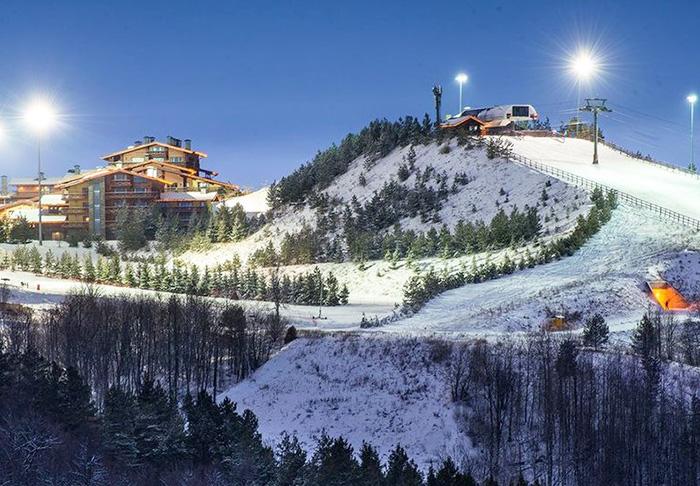 Свияжские холмы горнолыжный курорт. Цены, фото, длинна трасс