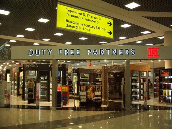 Дьюти-фри (Duty Free) Шереметьево. Цены, каталог товаров, парфюмерия, алкоголь