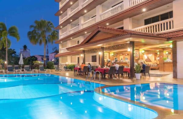 Pattaya Garden Hotel 3* (Паттайя Гарден отель) Таиланд. Отзывы, фото