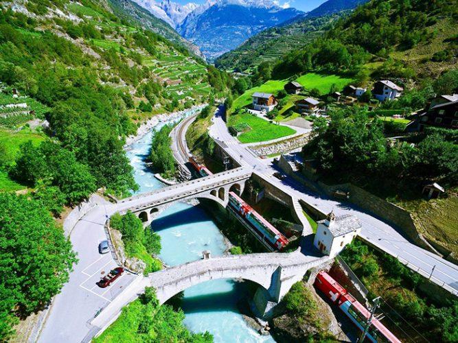 Ледяной экспресс в Швейцарии (Glacier express). Отзывы, цена, маршрут, расписание, фото