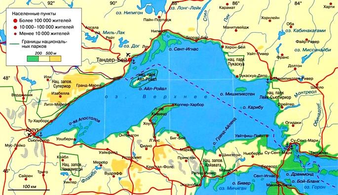 Озеро Верхнее. Фото, где находится, карта, к какому бассейну относится, происхождение